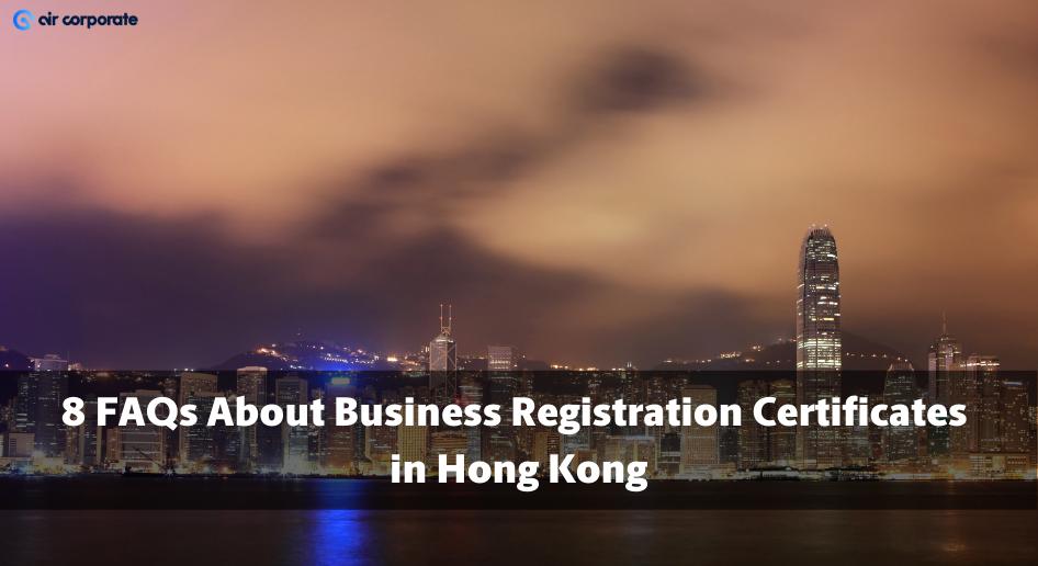 business registration certificate hong kong